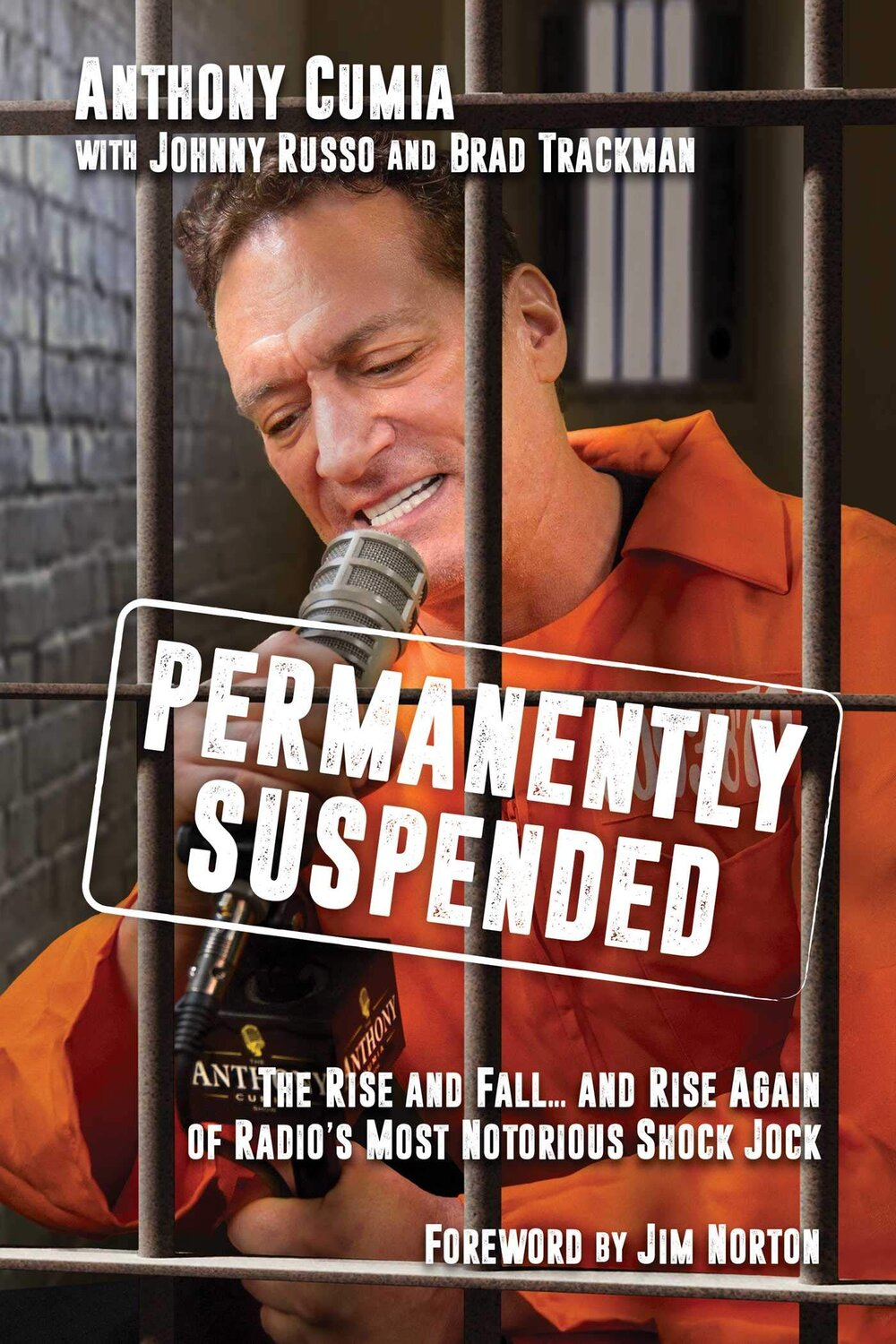 Permanently Suspended: The Rise and Fall...and Rise Again of Radio's Most Notorious Shock Jock by Anthony Cumia